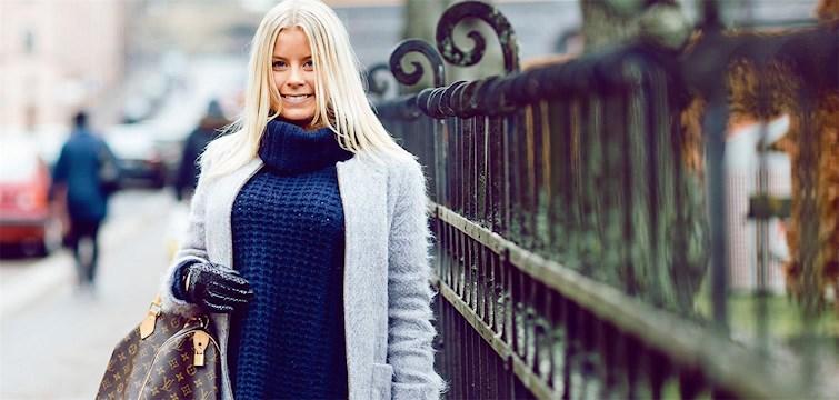 Hon älskar godis - och leopardmönster. Förebilden inom bloggvärlden heter Sofi Fahrman.  Tjejen bakom Veckans blogg här på Nattstad är 18-åriga Louise Kalin.