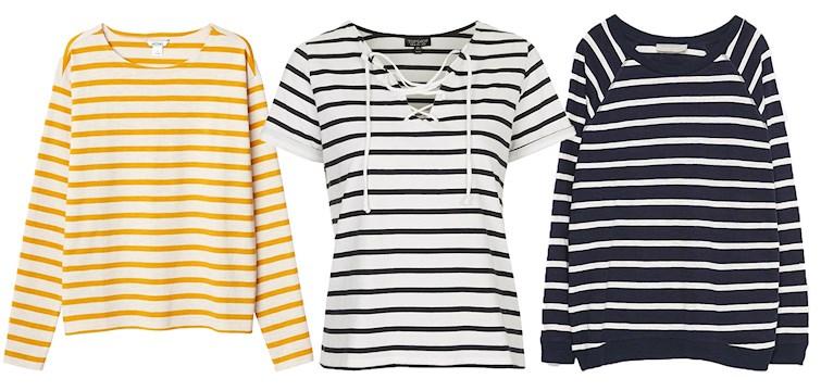 Det finns få plagg som tillhör den klassiska basgarderoben. Den randiga tröjan är just ett sådant plagg. Klassisk och som aldrig går ur tiden. Här är våra 9 randiga favoriter just nu.