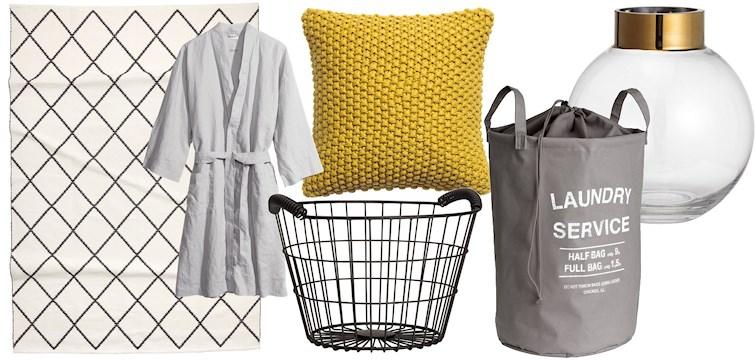 Tess tipsar om sina inredningsfavoriter från H&M Home. Satsa på en materialmix och färgkombinationer som är behagliga för ögat. Här är 12 vackra prylar som ger det där lilla extra till ditt hem, klicka dig in och låt dig inspireras!