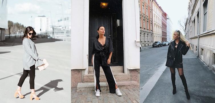 Saknar du inspiration till helgens outfits? Våra bloggare har under veckan visat upp våriga kombinationer som passar vid alla tillfällen - klicka dig in och inspireras!