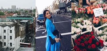 Följ med vinnaren Neda i London