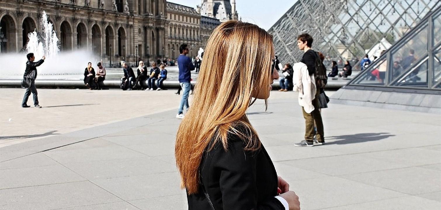 Att besöka Paris