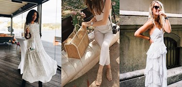 Insta Outfits: White Dreams