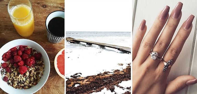 Nu är det riktigt kyligt så vinterpromenader, slappande och god mat har stått i fokus för våra Nouw bloggare under den föregående veckan. Kika in här för att få en inblick!