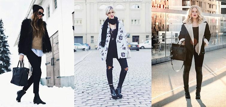 Sherlingjackor, skinnbyxor, camelfärgat och hattar som huvudbonad. Spana in och inspireras av våra Nouw-bloggares outfits denna veckan.