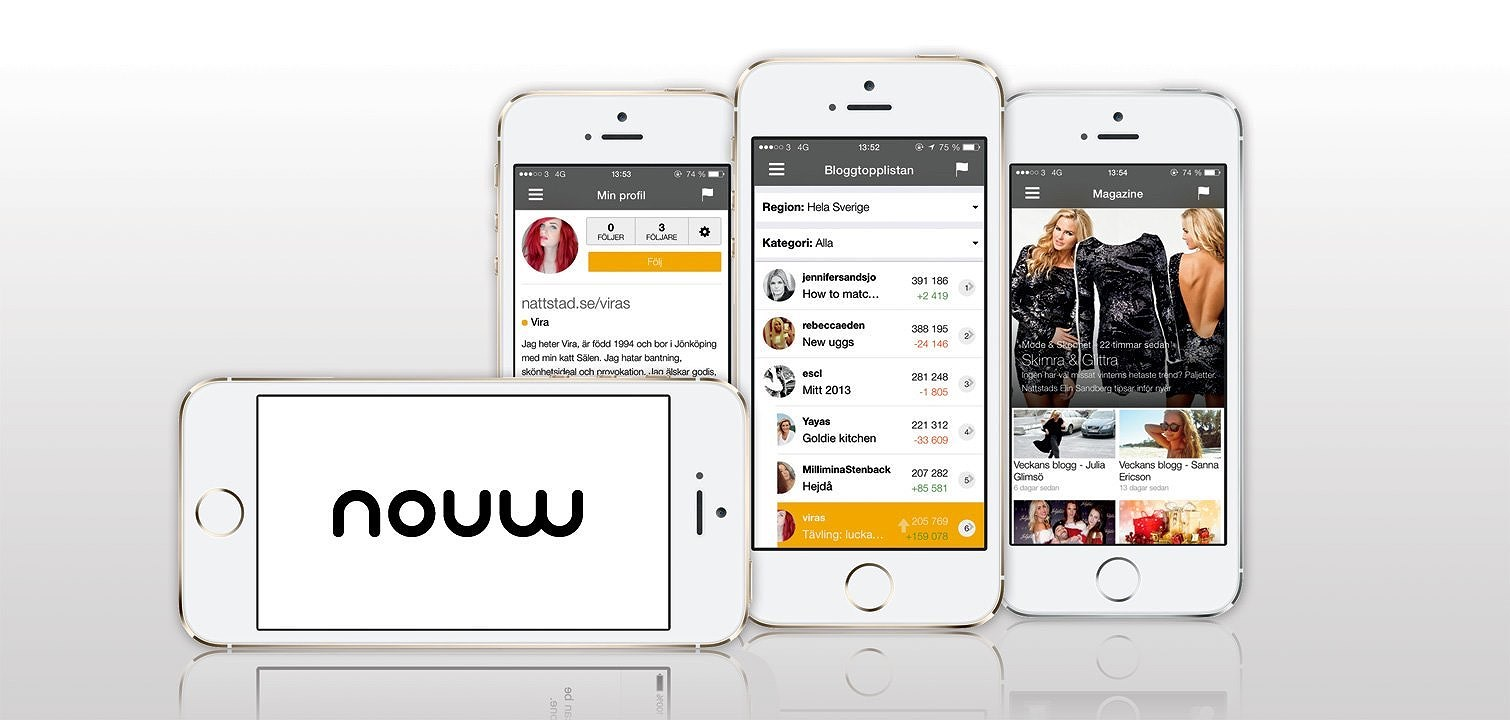 Mobile blogging on Nouw