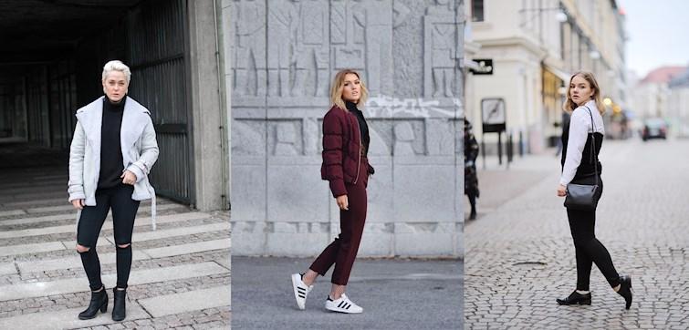Den här veckan ser vi otroligt genomtänkta och stilsäkra outfits! Våra bloggare lyckas som vanligt med sina klädval och vi har samlat våra favoriter här - klicka dig in och inspireras!