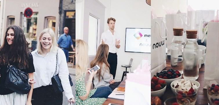 I sidste uge havde vi inviteret nogle Nouw bloggere forbi kontoret til morgenmad og workshop i Metapic.