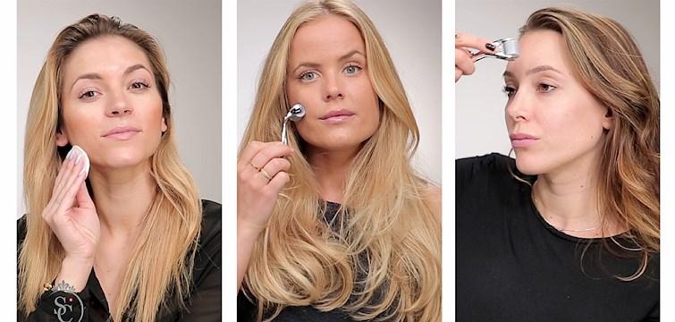 Se bloggtjejerna prova den nya hudprodukten. Kolla in instruktionsfilmen! I samarbete med Swiss Clinic.