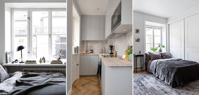 Är du en utav de som inte kan slita sig ifrån hemnet? Här bjuder vi på 3 helt perfekta ettor i centrala Stockholm som vi gärna hade flyttat in i!