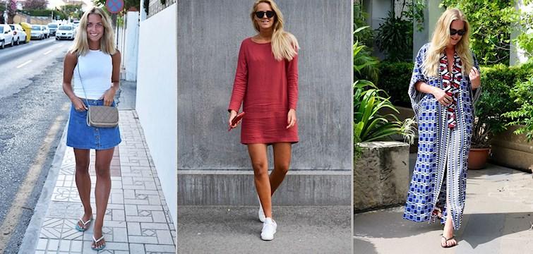 Bara brunbrända ben, kaftaner, jeansshorts och matchande set. Våra Nouw-bloggare vet vad som gäller i klädväg i sommar och idag bjuder vi på en rejäl inspirationsdos inför stundande semestern och sena sommarkvällar.