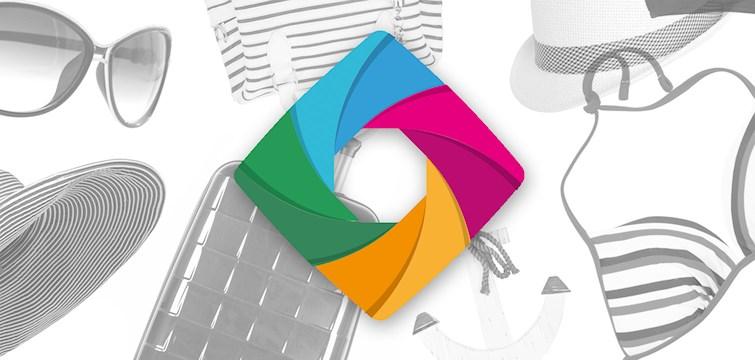 Nu kan du enkelt göra ett kollage med kläder och prylar direkt inne på Nouw