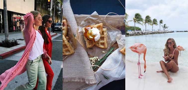 W ostatnim tygodniu nasze międzynarodowe blogerki świętowały nadejście wiosny. Niektóre osiągnęły 100K followersów na Instagramie, a inne podzieliły się swoją obsesją. Spójrzmy!