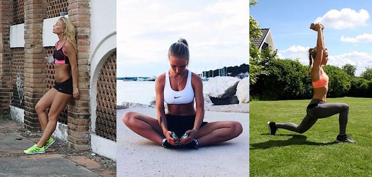 Idag tipsar våra träningsprofiler om de bästa hemmaövningarna i sommar, deras favoritmellanmål samt tips på hur man ska hålla uppe motivationen för träningen i sommar. Missa inte!