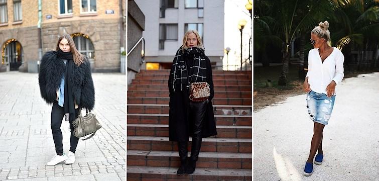 Vargavintern har kommit till Sverige så denna vecka har våra bloggare klätt sig ordentligt, om vi bortser ifrån vissa som rest till varmare breddgrader. Häng med för lite modeinspiration!