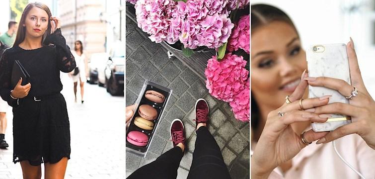 Antrekk, beauty-hacks og skjønnhet er bare noen stikkord i bloggernes uke!