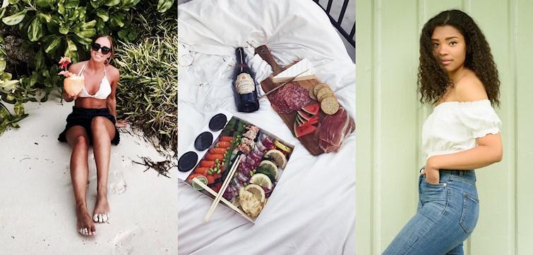 W zeszłym tygodniu nasze międzynarodowe blogerki były na ślubie, dały się bliżej poznać i odpoczywały na pikniku.