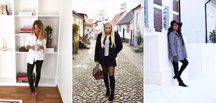 Denna vecka har våra bloggare bjudit oss på vinter-inspiration. Hur ska egentligen klä sig när det är -20 grader? Här nedan får du svaren på alla dina frågor!