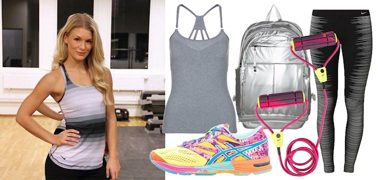 Function and fashion! Nouws nya träningsprofil Hanna Modig har plockat fram ett gäng snygga träningsplagg som inspirerar dig till att komma igång med träningen.