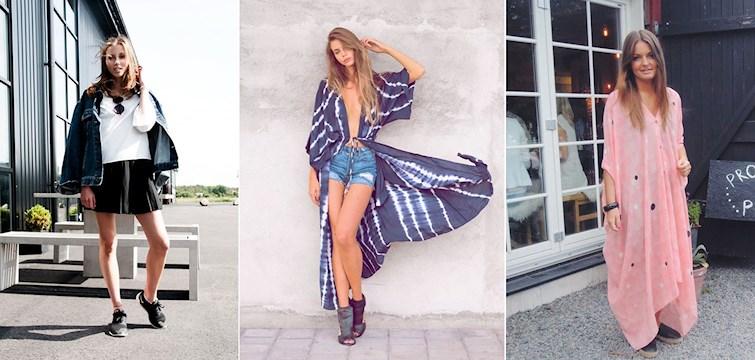 Sommaren är tillbaka och det firar våra bloggare med långa kaftaner, jeansshorts och croptops.