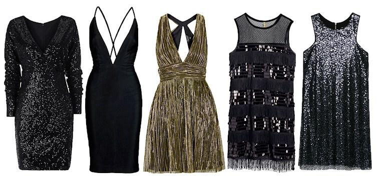 Nyårsafton närmar sig, festkvällen av alla festkvällar. Plocka fram glitter, paljetter och fransar. Här är 10 klänningar som gör dig snyggast på festen.