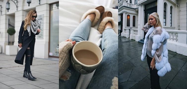 Nadeszła zima, a wraz z nią minusowe temperatury. Sprawdźcie jak nasze blogerki radzą sobie z mrozem i dalej wyglądają perfekcyjnie.