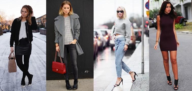 Nytt år, nya outfits. Här är 10 outfits som vi inspireras av just nu. Vilken är din favorit?