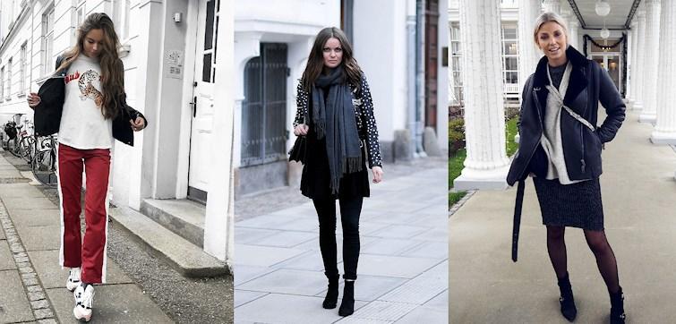 Denne uge ser vi nogle stilsikre outfits! Vores bloggere har været ude og skyde nogle fede billeder med inspirerende outfits. Vi har samlet vores favoritter her, så klik dig ind her og bliv inspireret!