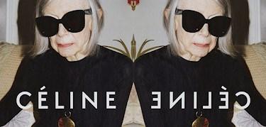 81-åriga Joan är Célines nya ansikte