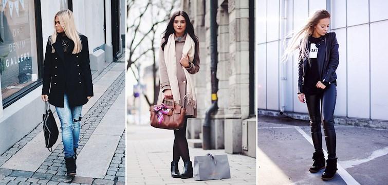 Melodin för våra trendmedvetna bloggare denna veckan har bl.a varit längre kappor, bekväma skor och stora hattar. Klicka in för mer inspiration!