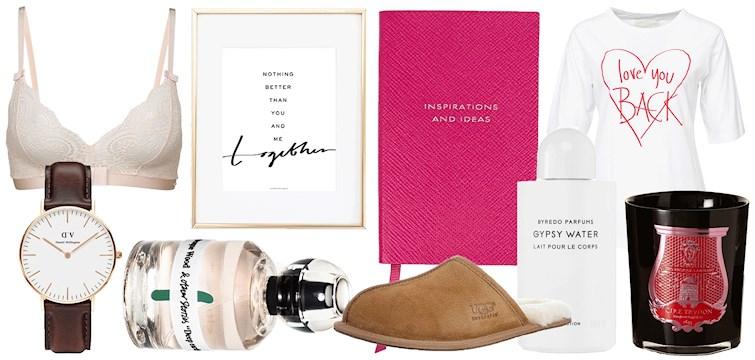 Allt behöver inte vara negativt för att man är singel på alla hjärtans dag. Te.x så slipper du lägga pengar på presenter som du istället kan lägga på dig själv. Här är 12 produkter som vi gärna ger oss själva i alla hjärtans dag present!