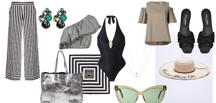 Strandmote har ankommet butikkene for fullt, og vi har kombinert det perfekte ferie-antrekket som du kan bruke både på stranden og på fest. Klikk deg inn for å inspireres av våre Metapicfavoritter!
