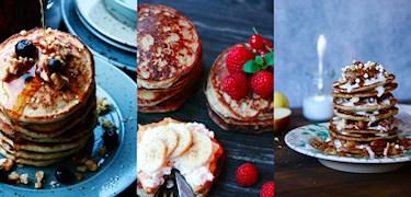 3 pannkaksrecept för den ultimata helgfrukosten