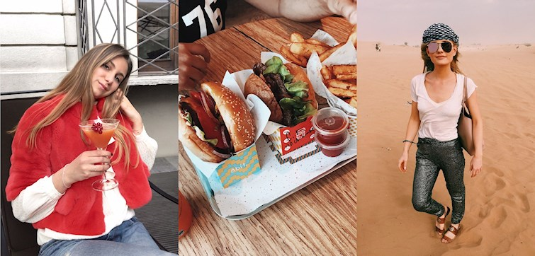 Last week our international bloggers found an all pink Instagram friendly restaurant, visited the desert for the first time, dressed up in spring colours, had a stroll along the River Themes and also showed us a good old Throwback Thursday.