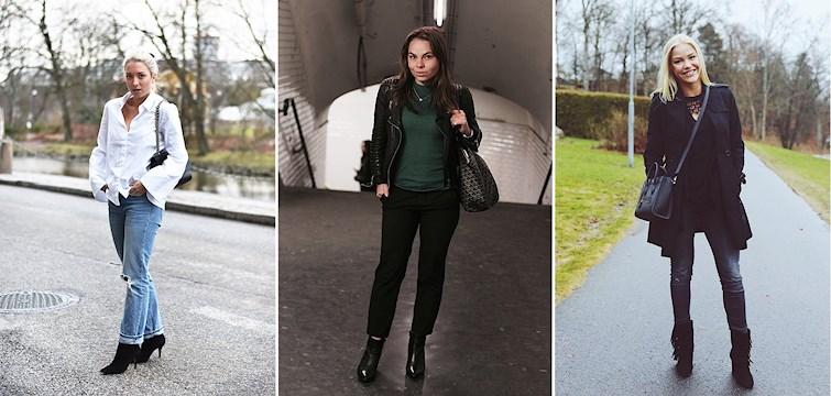 Denna vecka har vi sett både sol och regn men våra bloggare har klätt sig i nättare kläder. Vi ser mycket beiget, vita skjortor och sneakers. Kika in för att få lite inspiration!