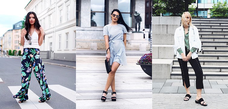 Bloggerne våre nyter sommeren når den endelig titter frem, og dette kan vi se på de fine antrekkene som har blitt publisert denne uken. Klikk deg inn for å bli inspirert!