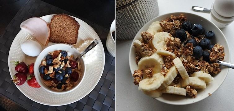 Frukost är enligt mig det viktigaste målet. Det sätter standarden för hur din dag blir, så se till att starta din dag med en energirik frukost så är det bara att ta sig an allt vad dagen erbjuder sedan!