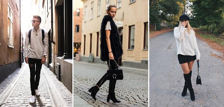 Denna veckan har våra Nouw-bloggare skapat outfits där de nyttjat de sista ljumma dagarna, men även börjat bära stickat inför höstkylan som nu är runt hörnet. Låt dig inspireras!