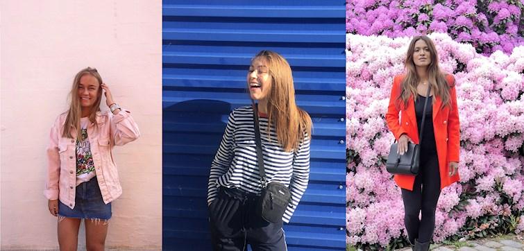 Hver uge vælger vi 10 fede outfits ud blandt Nouws danske bloggere. I denne uge er det især farverige baggrunde og glade smil vi ser hos bloggerne. Klik dig ind her og bliv inspireret af ugens udvalgte outfits!