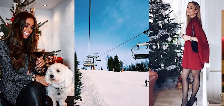 Under sista veckan på 2016 visade våra bloggare oss bilder från året som gått, firade jul & nyår och satte upp mål inför det nya året. De tog även med oss till både vita backar och vita stränder!
