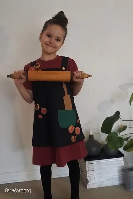 Rosa fra Rouladegade kjole...Fastelavn