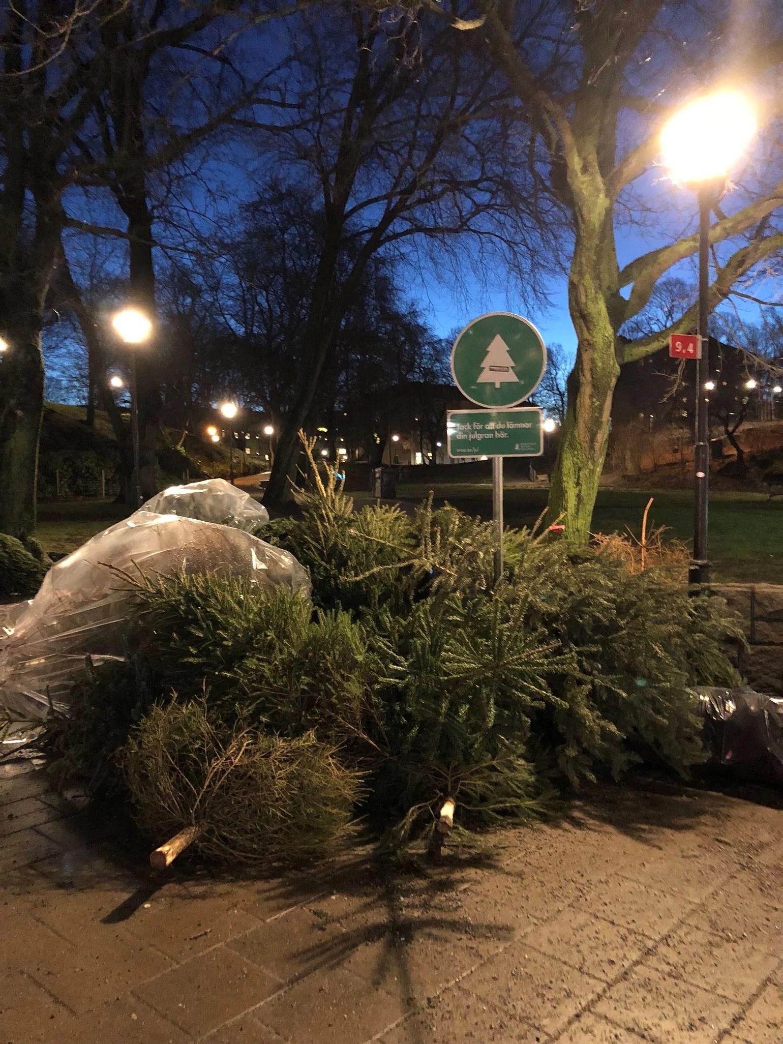 Nu är julen slut.