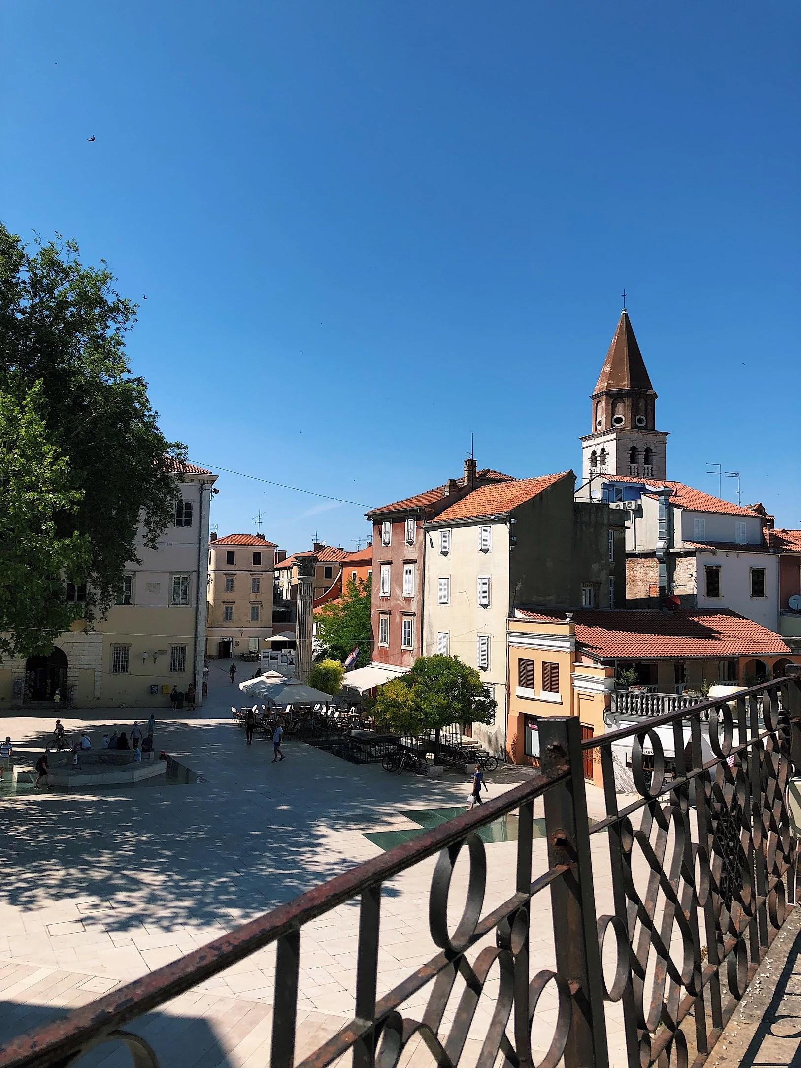 Överlycklig i Zadar