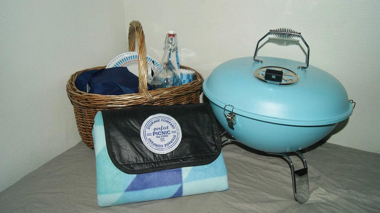 Redo för picknick.