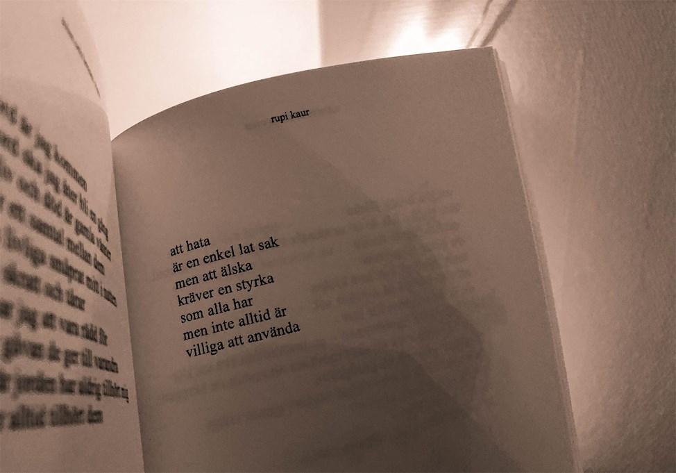 svenska citat från Solen och hennes rosor