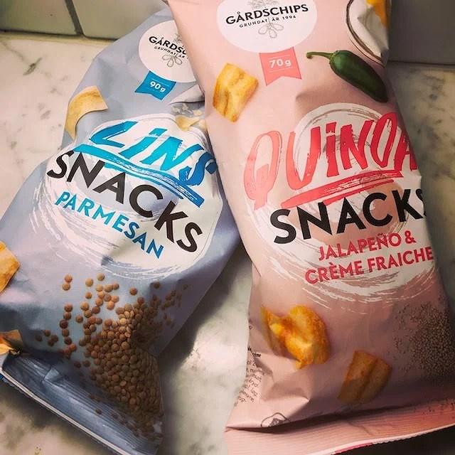 Nya snacks