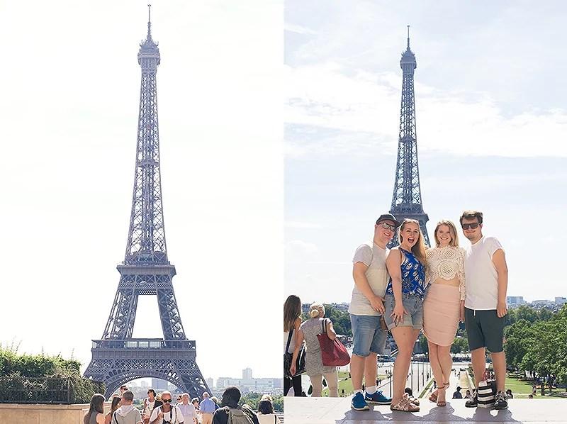 krist.in reise paris eiffeltårnet eiffel tower travel