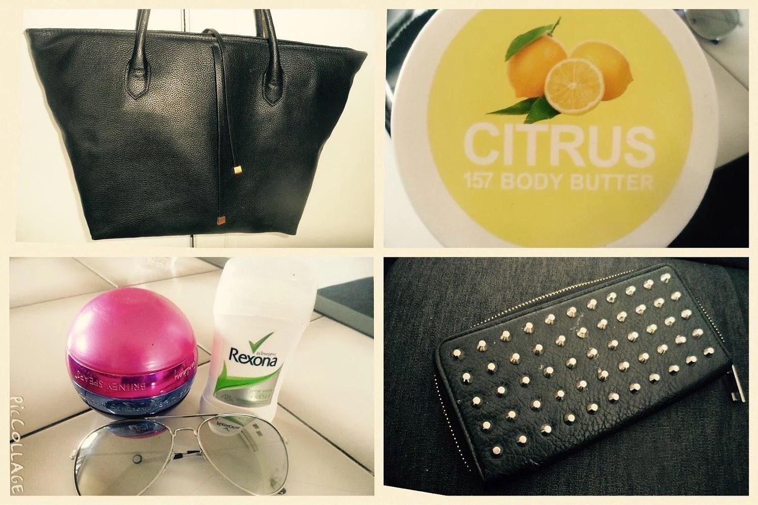 Dag 7- vad som finns i min väska