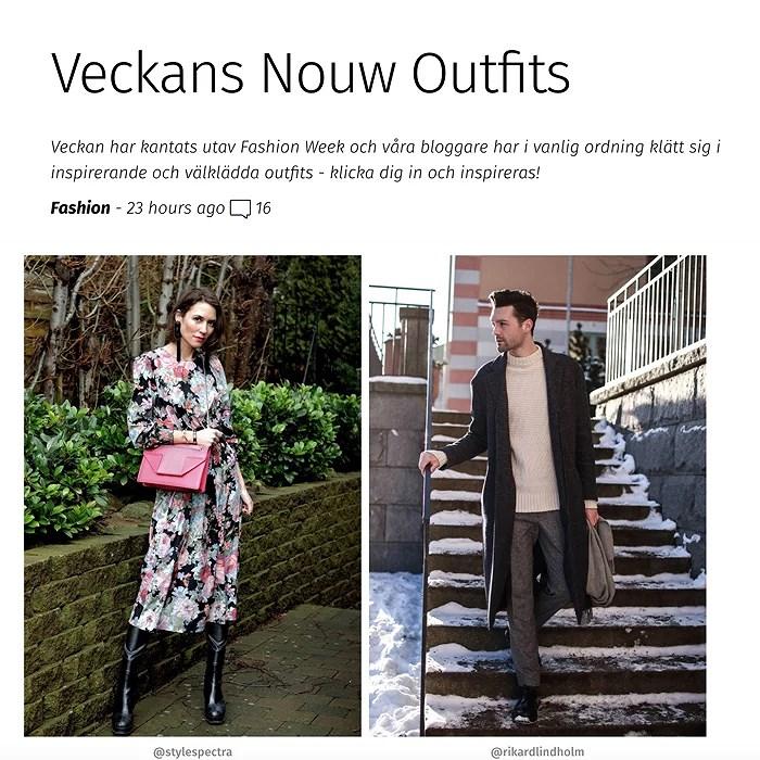 Veckans Nouw Outfit 2018.01.26