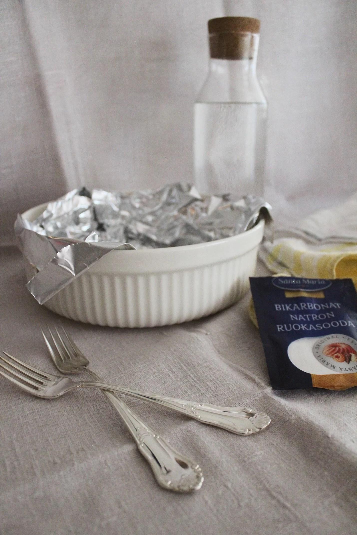 Putsa silver - enkelt och miljösnällt